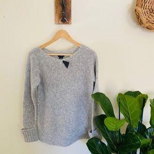 NWT- Club Monaco Italian yarn grey sweater